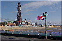 SD3036 : Blackpool Tower from North Pier by Stephen McKay
