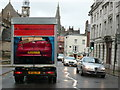 SY6990 : Car in a Van, Dorchester High St by Nigel Mykura
