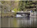 NN4907 : Glen Finglas Reservoir Outlet into Loch Katrine by David Dixon