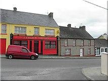 H2694 : Lynch's Tavern and an old house, Castlefinn by Kenneth  Allen