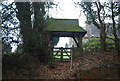 TQ8611 : Lych Gate, Church of St Andrew by N Chadwick