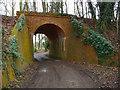 SU4567 : Newbury - Former Railway Bridge by Chris Talbot