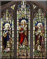 TG0041 : St Andrew & St Mary, Langham - Stained glass window by John Salmon