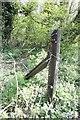 SU4867 : Made from an old rail by Bill Nicholls