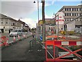 SJ9494 : Renewal work on Market Street by Gerald England