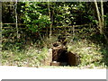 SO2706 : Trough at the edge of Cwmavon Road north of Cwmavon by Jaggery
