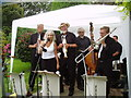 TQ3551 : Jazz in the garden, at Dewhurst,Godstone by Dr Neil Clifton