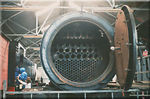 NZ8204 : Inside the boiler by Stephen Craven