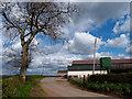NS4833 : West Overland Farm by wfmillar