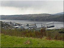 NS2489 : HMNB Clyde, Gare Loch by David Dixon