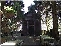 SD6838 : Cemetery chapel at Hurst Green by Philip Platt