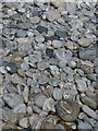 NF8378 : Gneiss cobbles on the beach of Tràigh Ear by Richard Law