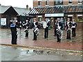 SO8218 : Gloucester Waterways Museum - Sea Cadet band by Chris Allen