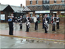 SO8218 : Gloucester Waterways Museum - Sea Cadet band by Chris Allen