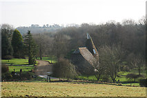 TQ6226 : Oast House at Hare Holt, Witherenden Road, Mayfield by Oast House Archive