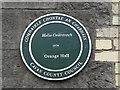 H3617 : Plaque, Orange Hall, Belturbet by Kenneth  Allen