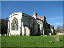 TL3852 : Harlton Church in April by John Sutton