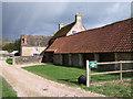 ST9489 : Home Farmhouse, Charlton Park Estate by Vieve Forward