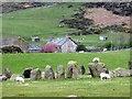 SD1788 : Swinside farm from Sunkenkirk Stone Circle by Perry Dark