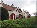 SE9364 : Estate houses at Castlegate Green, Sledmere by Ian S