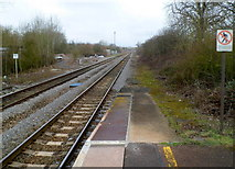 ST9897 : A view north from Kemble railway station by Jaggery
