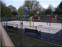SK4833 : New water-play area by David Lally