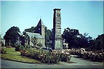 NO2501 : Leslie, War Memorial by Colin Smith