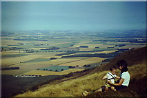 NO2208 : Howe of Fife from West Lomond by Colin Smith