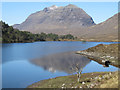NH0057 : Loch Clair and Liathach by Bob Jones