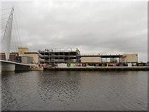 SJ8097 : ITV Studio Site, Trafford Wharf by David Dixon