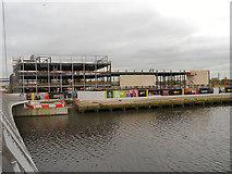 SJ8097 : Construction Site, ITV Studios by David Dixon
