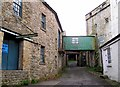 NY7146 : Alston High Mill by Rose and Trev Clough