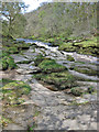 SE0656 : River Wharfe passing through The Strid by Pauline E