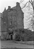 NT6517 : The keep of Ferniehurst Castle by Nigel Brown