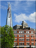 TQ3279 : 1 Long Lane and the Shard by Stephen McKay
