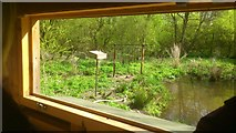 SE2741 : View from the Marsh Hide, Adel Dam nature reserve by Rich Tea