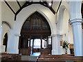 TQ3551 : St Nicholas church: north aisle by Stephen Craven