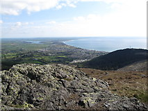 J3630 : Drinnahilly from the southern end of the Slievenabrock ridge by Eric Jones