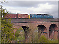 SD8110 : Royal Scots Grey at Roch Viaduct by David Dixon
