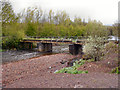 SD8109 : River Roch, Footbridge at Gigg by David Dixon