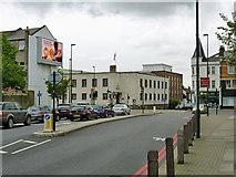 TQ2775 : Road junction on Lavender Hill by Robin Webster