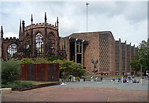 SP3379 : Cathedral of St Michael, Priory Street, Coventry by Stephen Richards