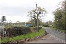 SJ9282 : Hope Lane junction Wood Lane West by Peter Turner