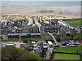 SH6116 : High view of Barmouth by Dave Croker