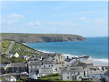 SH1726 : Aberdaron on a sunny afternoon by Peter Barr