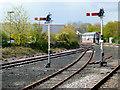 TA1766 : Bridlington:  Signal box and semaphores by Dr Neil Clifton