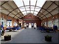 TA1766 : Bridlington Station:  concourse by Dr Neil Clifton