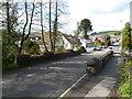 ST1289 : Aberfawr Road crosses Nant yr Aber bridge, Abertridwr by Jaggery