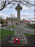 NZ3621 : The War Memorial at Bishopton by Ian S