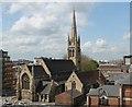 SK9771 : St Swithin's church, Lincoln by Julian P Guffogg